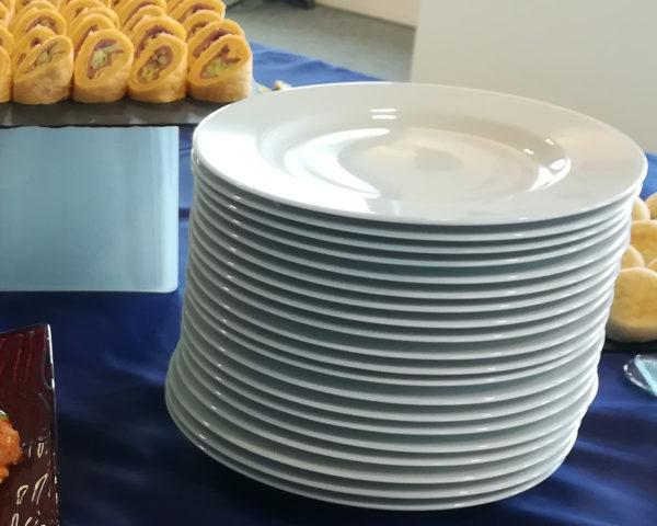 assiette blanche