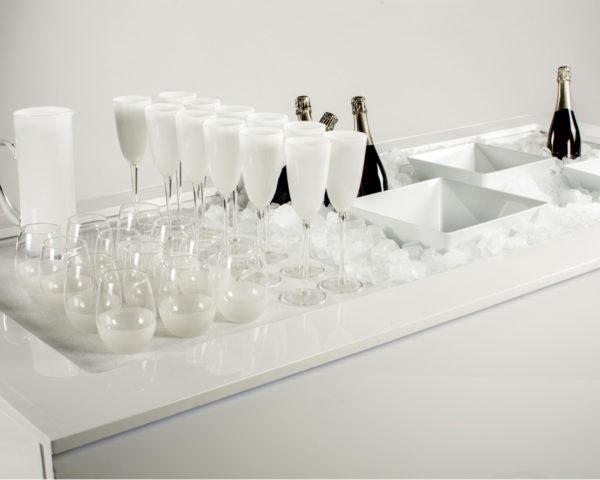 buffet ice blanc