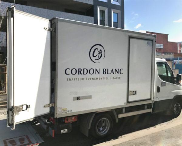 Camion Cordon Blanc