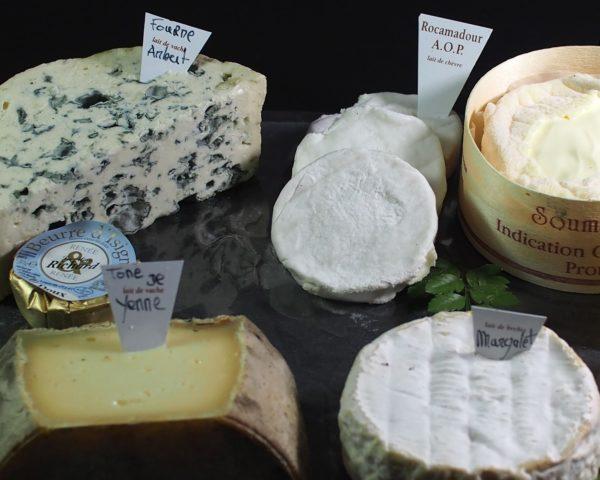 fromages affinés de nos province