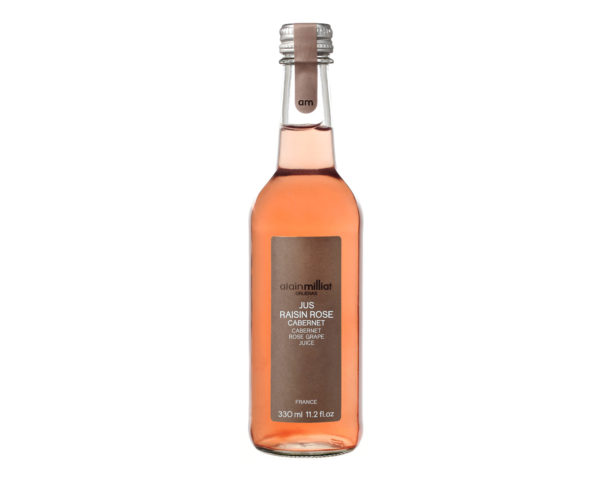 Jus de raisin rosé Cabernet Alain Milliat