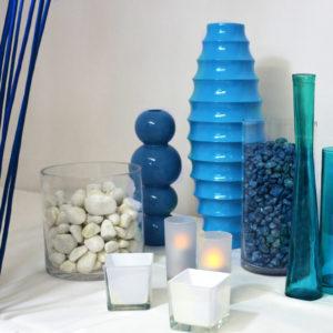 Pack décoration couleur bleue