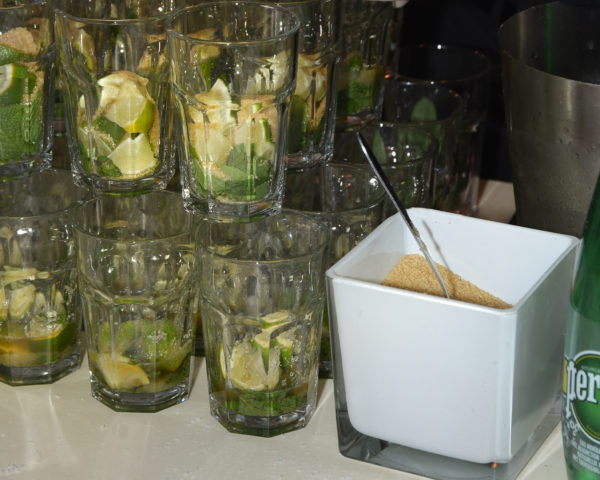 verre adapté au mojito