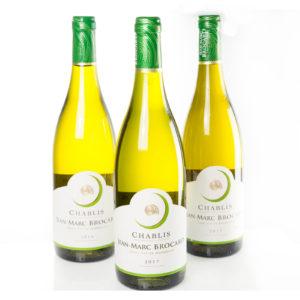 Vin blanc Chablis - Maison Brocard