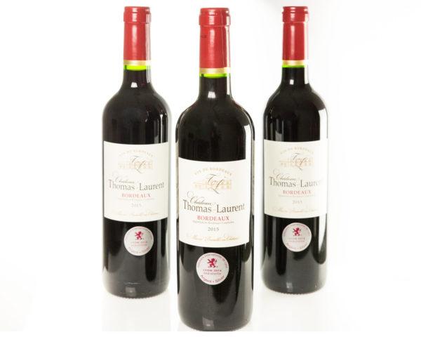 Vin rouge Château Thomas Laurent - Bordeaux