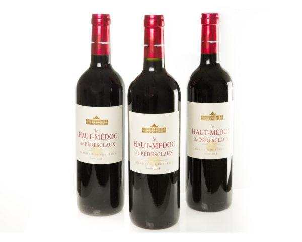 Vin rouge Haut-Médoc de Pédesclaux