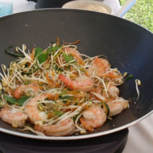 wok aux légumes