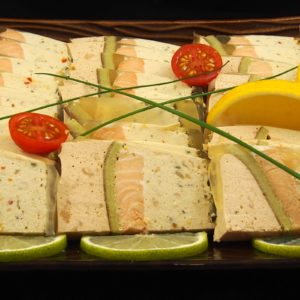 Terrine gourmande au saumon