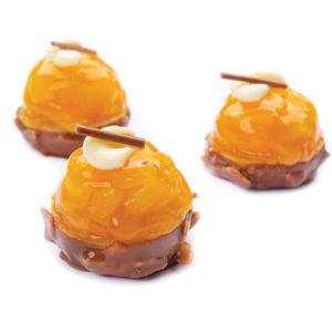 coque chocolat aux poires