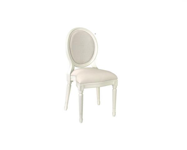 Chaise Montaigne blanche
