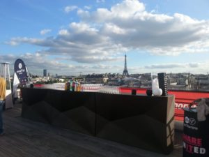 événement avec vue sur la tour Eiffel